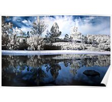 Infrared Mirror Poster
