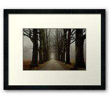 Winter Companions Framed Print