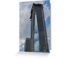 1 Bloor St. E., Almost Completed New Skyscraper Greeting Card