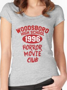 Woodsboro High Horror Movie Club 1996 Women's Fitted Scoop T-Shirt