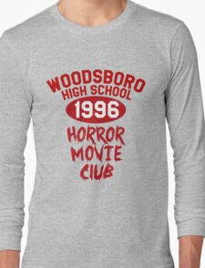 Woodsboro High Horror Movie Club 1996 Long Sleeve T-Shirt