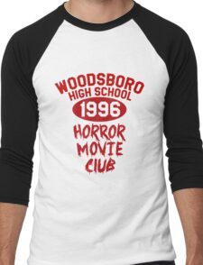 Woodsboro High Horror Movie Club 1996 Men's Baseball ¾ T-Shirt