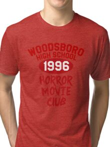 Woodsboro High Horror Movie Club 1996 Tri-blend T-Shirt