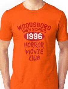 Woodsboro High Horror Movie Club 1996 Unisex T-Shirt