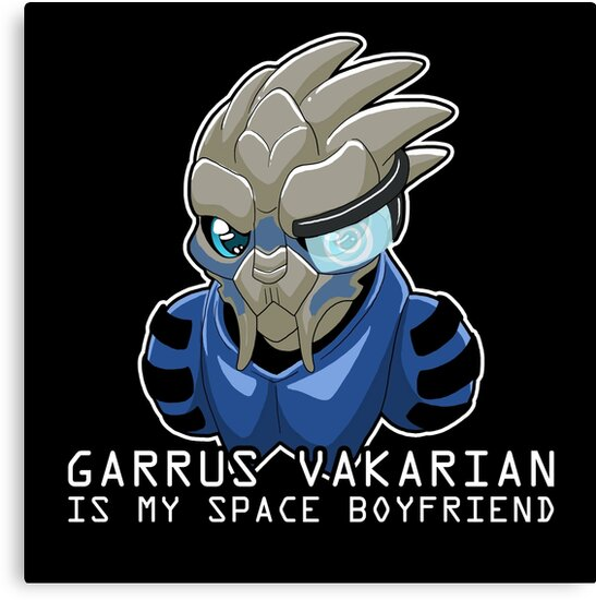 Garrus Is My Space Boyfriend by Maggie Davidson