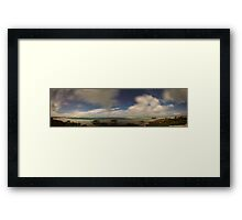 Red Rock Bay Framed Print