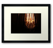 Light up the way. Framed Print