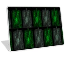 Time And Relative Dimension In Slytherin Laptop Skin