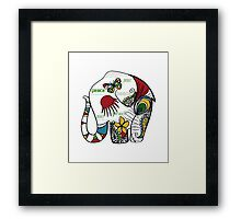 Peace Elephant Framed Print
