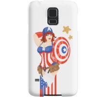 Captain America Pinup Samsung Galaxy Case/Skin