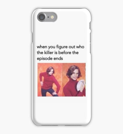 All figured out! iPhone Case/Skin
