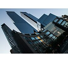 New York Curves and Skyscrapers Photographic Print
