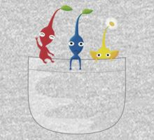 Pikmin Pocket Tee Kids Clothes