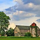 Farm And Clouds by EBArt