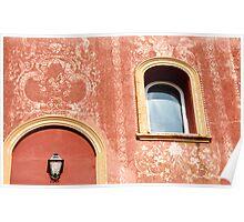 Muro Di Rosso Poster