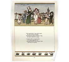Under the Window Pictures and Rhymes for Children Edmund Evans and Kate Greenaway 1878 0049 Ring the Bells Poster