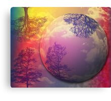 """Twin Flame""  Canvas Print"