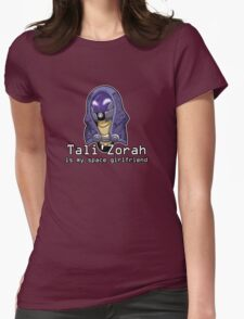 Tali is My Space Girlfriend Womens Fitted T-Shirt