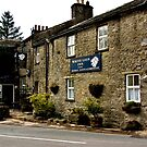 White Lion Inn  -  Cray. by Trevor Kersley