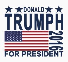 Donald Trump for President T Shirt.png by redbuble1
