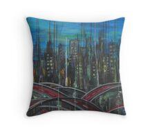 Selective urbanism Throw Pillow
