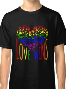 Love Wins, Marriage Equality T-Shirt design. Classic T-Shirt