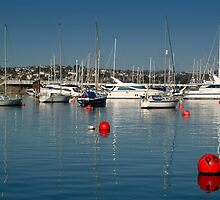 Torquay Hobour with boats by keithphotos