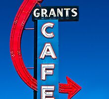 Grants Cafe - Print by Mark Podger