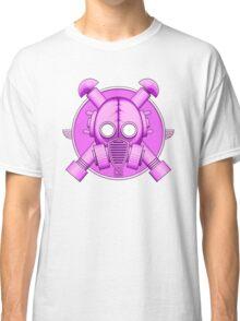 Art Deco Lilac Gasmask Classic T-Shirt