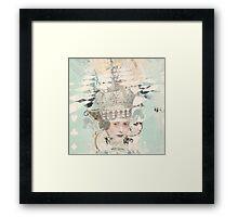White Queen Framed Print