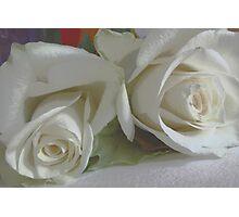 Romantic white Photographic Print