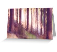 forest impressions II Greeting Card