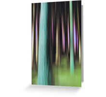 forest impressions IV Greeting Card