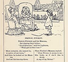 Miniature Under the Window Pictures & Rhymes for Children Kate Greenaway 1880 0024 Prince Finikin by wetdryvac