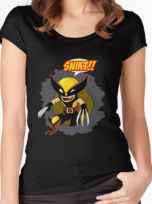 Wolvie Women's Fitted Scoop T-Shirt