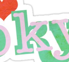 i heart tokyo Sticker