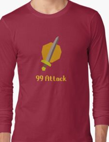Runescape: 99 Attack Long Sleeve T-Shirt