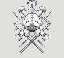 Tribal Silver Gasmask Unisex T-Shirt