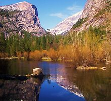 Yosemite Reflecting The Spring by MichelleRees