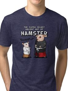 Hamsters - SqueekFu Tri-blend T-Shirt