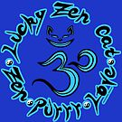 Lucky in Blue by luckyzencat