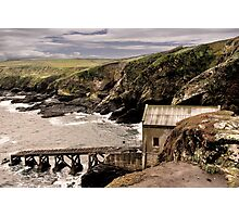 Lifeboat House Photographic Print