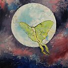 Luna Moth by Michael Creese