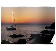 Burgaz Ada Sunset Poster