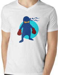 Ninja by Chillee Wilson Mens V-Neck T-Shirt