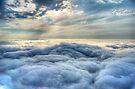 Cloudscape above Africa by Rudi Venter