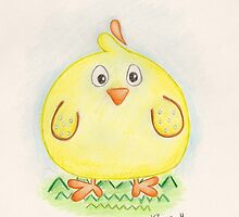 Easter Chick by XanetBZ