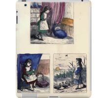 The Little Folks Painting book by George Weatherly and Kate Greenaway 0069 iPad Case/Skin
