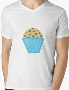 Chocolate Chip Muffin Mens V-Neck T-Shirt