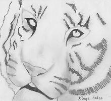 White Tiger by XanetBZ